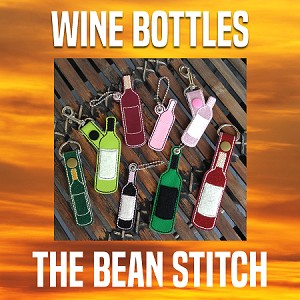 WineBottles - TWO Sizes and EIGHT designs files INCLUDED!